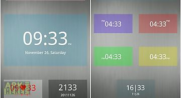 Nice simple clock (widget)