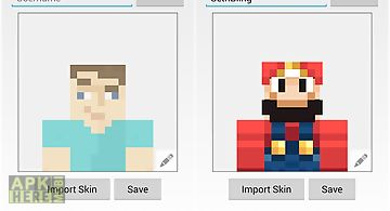 Skin avatar for minecraft