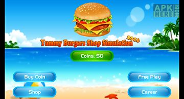Yummy burgers simulation 2016