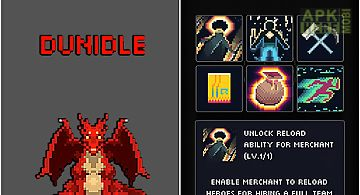 Dunidle: idle pixel dungeon