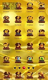 gold theme launcher