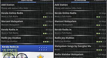 Malayalam radio