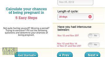 Pregnancy test & symptom quiz