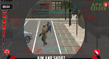 City sniper combat mission