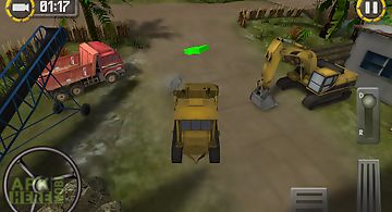 Heavy bulldozer simulator 2015
