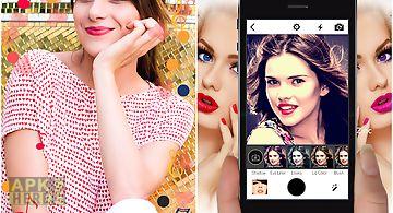 Face make up selfie editor