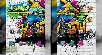 Graffiti art show theme