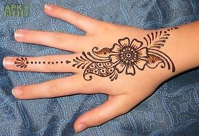 Mehndi App For Android : Simple mehndi design for android free download at apk here store