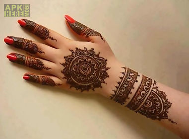Mehndi Hands With Mobile : Simple mehndi design for android free download at apk here store
