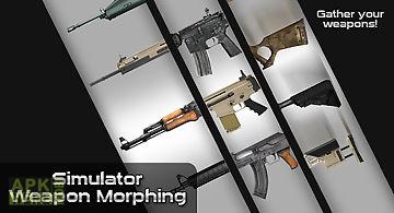 Simulator weapon morphing