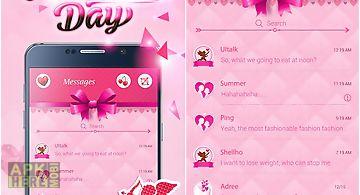 (free) go sms valentine theme