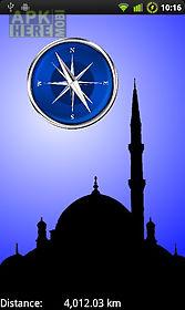 compass to mecca