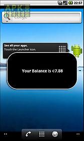 check balance