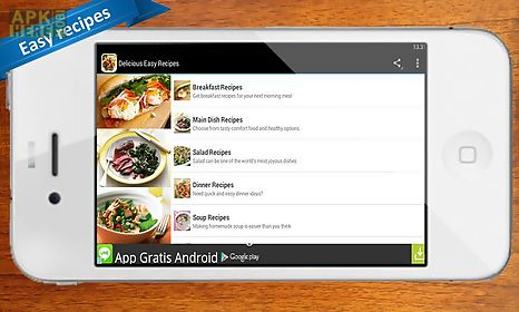 Delicious easy recipes for android free download at apk here store delicious easy recipes delicious forumfinder Image collections