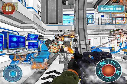 robots war space clash mission
