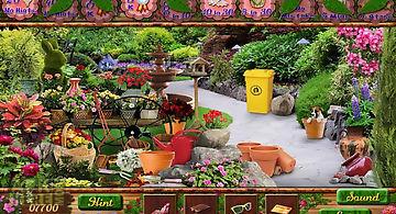 Secret gardens hidden object