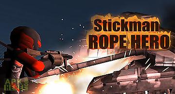 Stickman rope hero