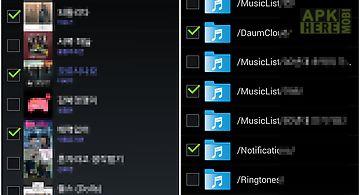Folder music player (mp3)