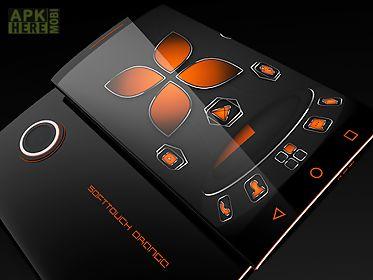 soft touch orange - next theme