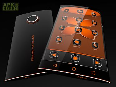 soft touch orange - next theme