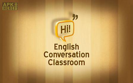 english conversation classroom