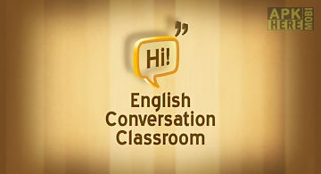 English conversation classroom