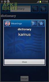 kamus bahasa inggeris melayu