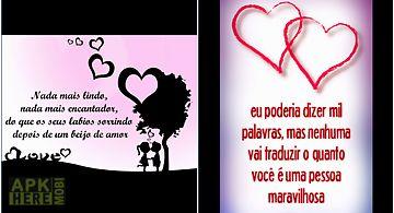 Love phrases in portuguese