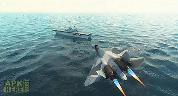 Navy boat & jet parking game