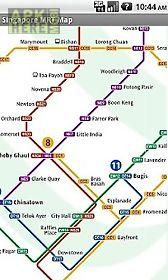 singapore offline mrt map