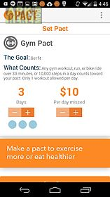 pact: earn cash for exercising