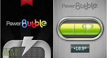 Power bubble - spirit level