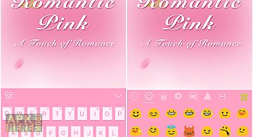 Romantic pink - kika keyboard