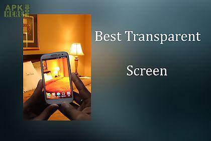 transparent wallpaper camera