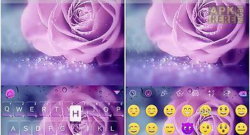 Dreamlike rose ikeyboard theme