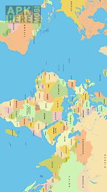 World map for android free download at apk here store apkherebi world map world map gumiabroncs Gallery
