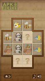 mind game for kids - animals