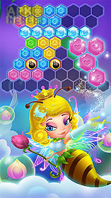 flower secret: hexa block puzzle and gems eliminate
