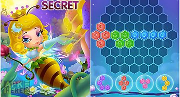 Flower secret: hexa block puzzle..