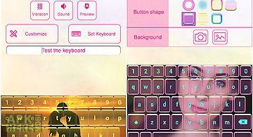 Photo keyboard theme changer