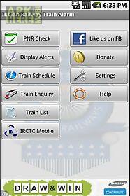 indian railway train alarm