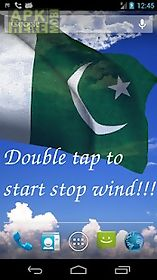 3d pakistan flag lwp live wallpaper