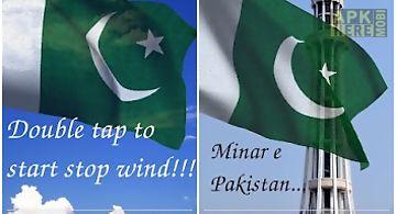 3d pakistan flag lwp Live Wallpa..