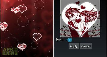 Heart  lite Live Wallpaper