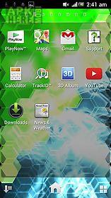 hex screen 3d live wallpaper