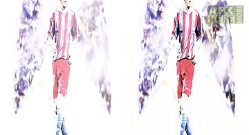 Lionel messi angel  Live Wallpap..