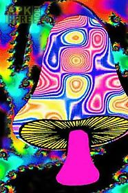Psychedelic Mushroom Lwp Live Wallpaper