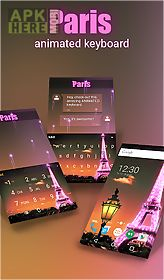 paris animated keyboard