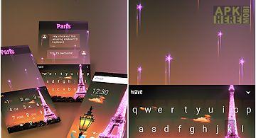 Paris animated keyboard
