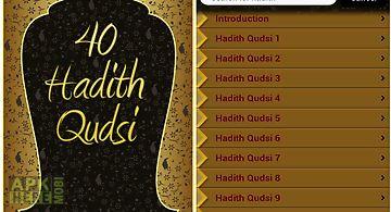 40 hadith qudsi (islam)